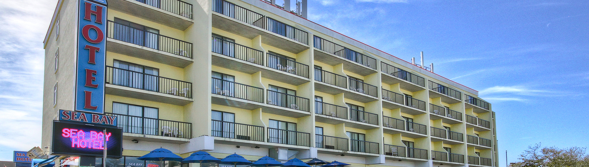 Hotels In Ocean City Md >> Contact Sea Bay Hotel Ocean City Md Bayside Rooms W Pool