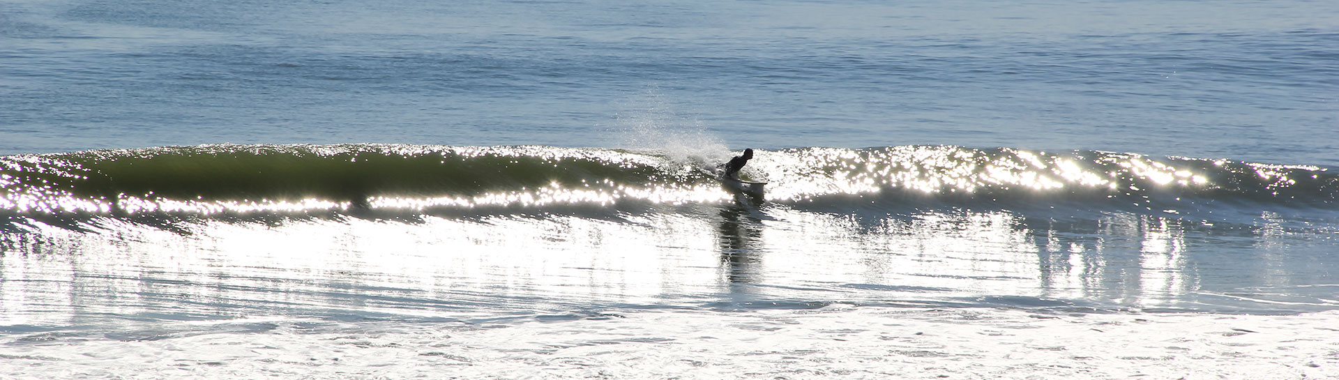 Surfer Riding a wave in OC